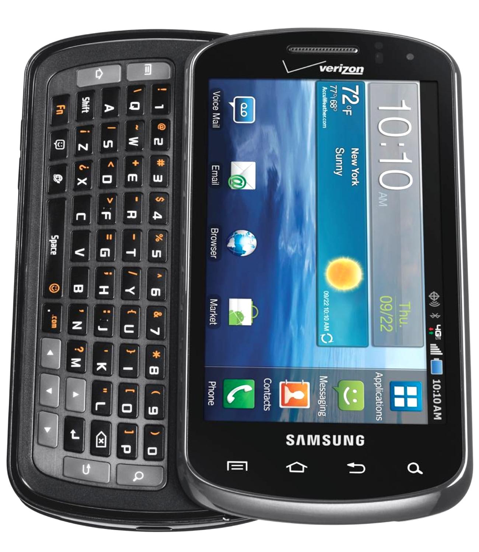 Samsung Galaxy Stratosphere SCH-I405 - 4GB - Noble Black (Verizon) Smartphone